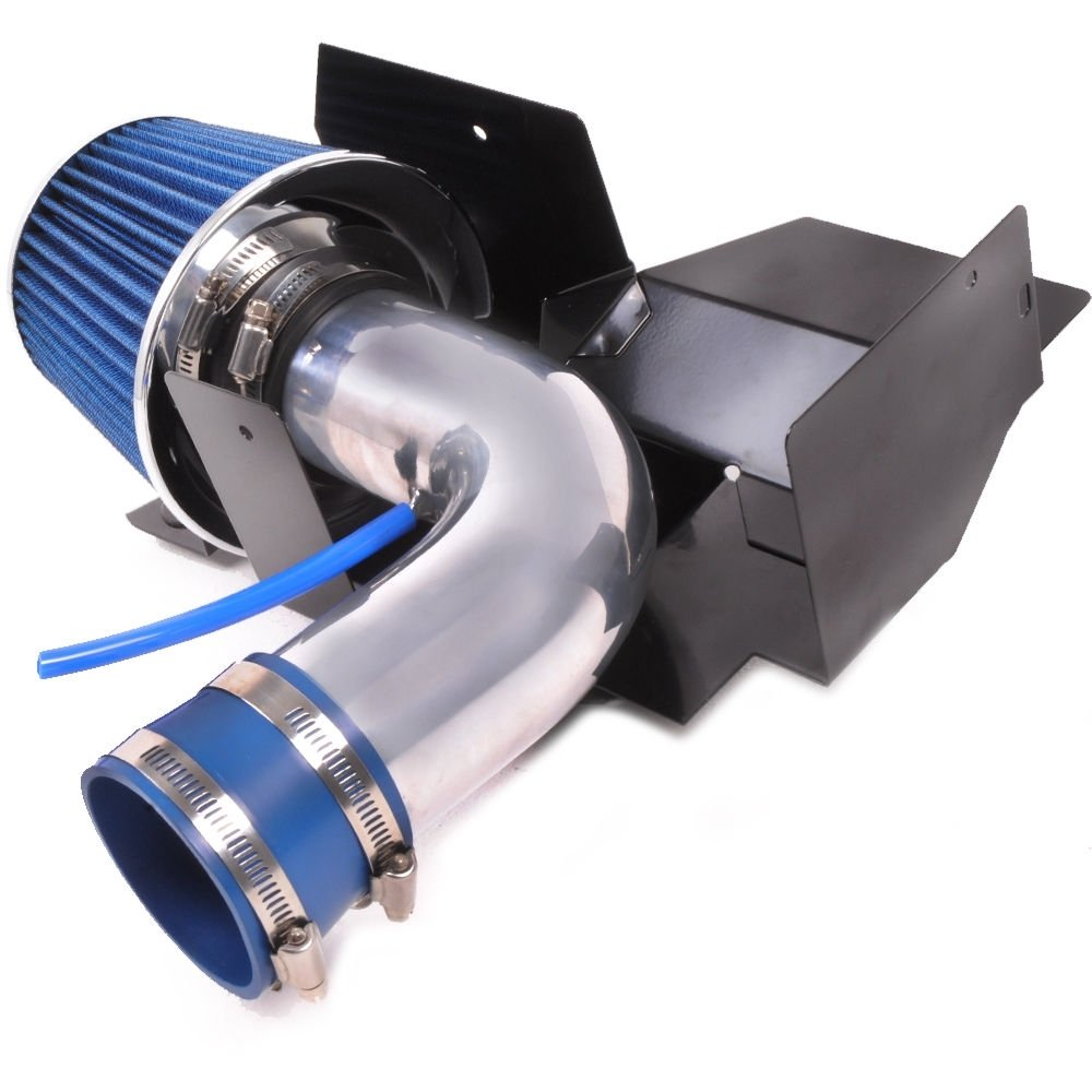 Aluminium Short Ram Performance Race Air Intake Induction Filter Kit: Amazon.es: Coche y moto