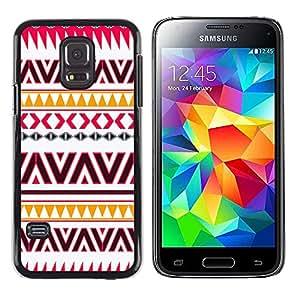 - Flag - - Fashion Dream Catcher Design Hard Plastic Protective Case Cover FOR Samsung Galaxy S5 Retro Candy
