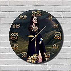 Original Handmade Wall Clock FBA Lana Del Rey 11.8'' Handmade Wall Clock - Get unique décor for home or office – Best gift ideas for kids, friends, parents and your soul mates