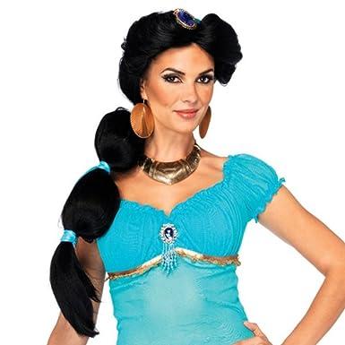 Princess Jasmine Aladdin Wig