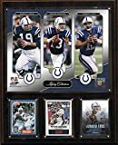NFL Indianapolis Colts Unitas-Luck-Manning Legacy Collection Plaque, 12 x 15-Inch