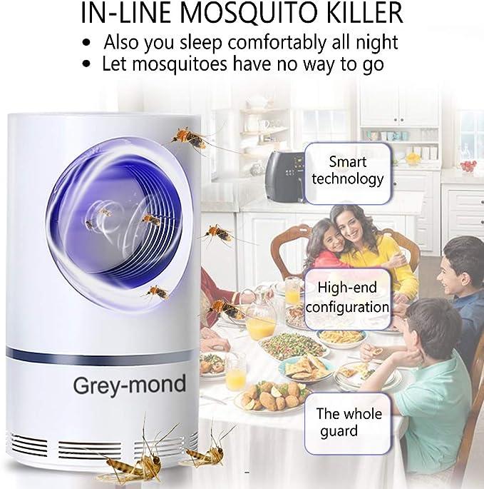 10 opinioni per Grey-mond-Lampada zanzara elettrica-Anti-Moskito Lampe- Elektrischer UV