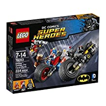 LEGO Super Heroes Batman: Gotham City Cycle Chase Playset 76053