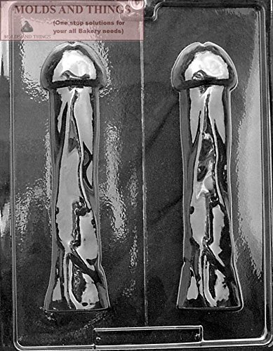 - THE PLEASER 3D Adult Chocolate Candy Mold with Copyrighted Molding Instructions