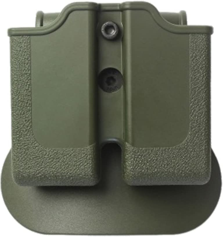 IMI SINGLE STACK DOUBLE PISTOL MAGAZINE POUCH Z2010 1911 SIG S/&W