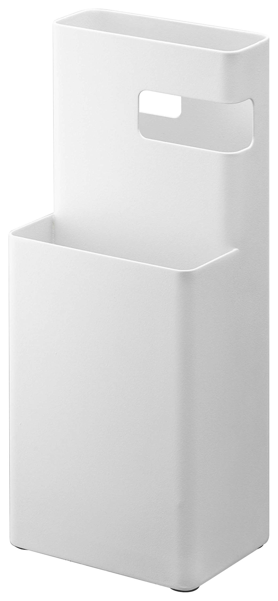 YAMAZAKI home 3173 Duo Sweeper Stand WH Space Saving One Size White