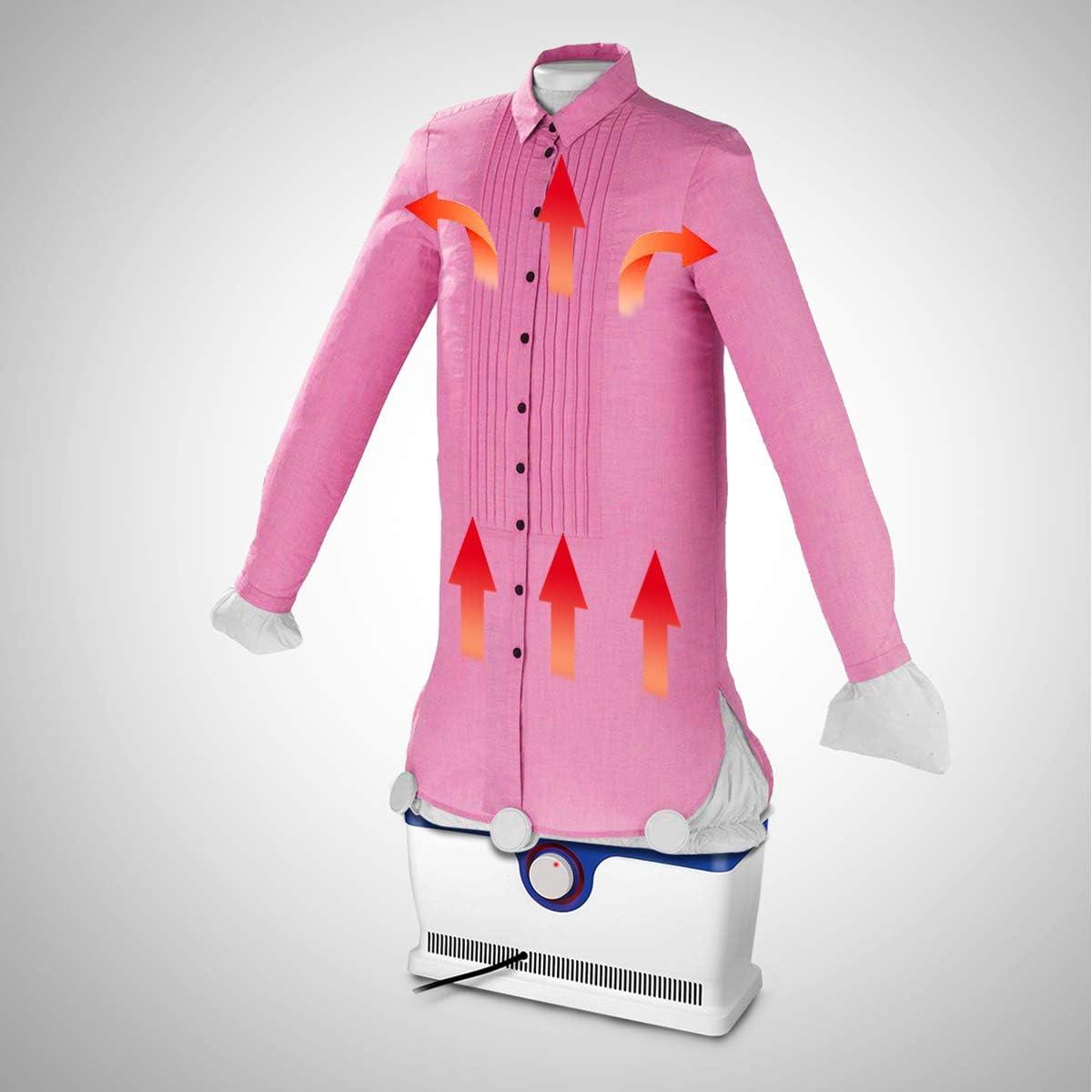 Banda de muñeca para camisas y blusas secar & planchar en una con temporizador 1800 W automática Plancha Bügelpuppe: Amazon.es: Hogar