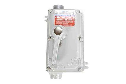 480v Explosion Proof Disconnect Switch Breaker C1d12 C2d12 3