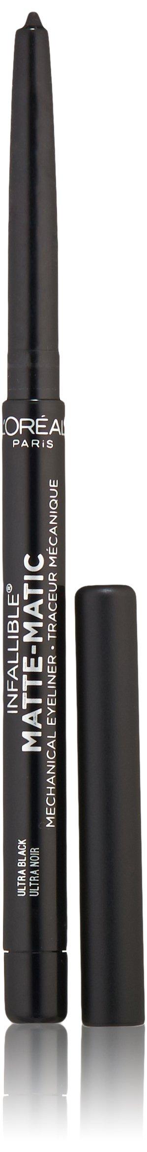 L'Oréal Paris Infallible Matte-Matic Mechanical Eyeliner, Ultra Black, 0.01 oz. (Packaging May Vary)