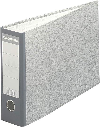 Exacompta 53310E - Carpeta (Conventional file folder, Caja de cartón, Gris, A4, 240 mm, 370 mm): Amazon.es: Oficina y papelería