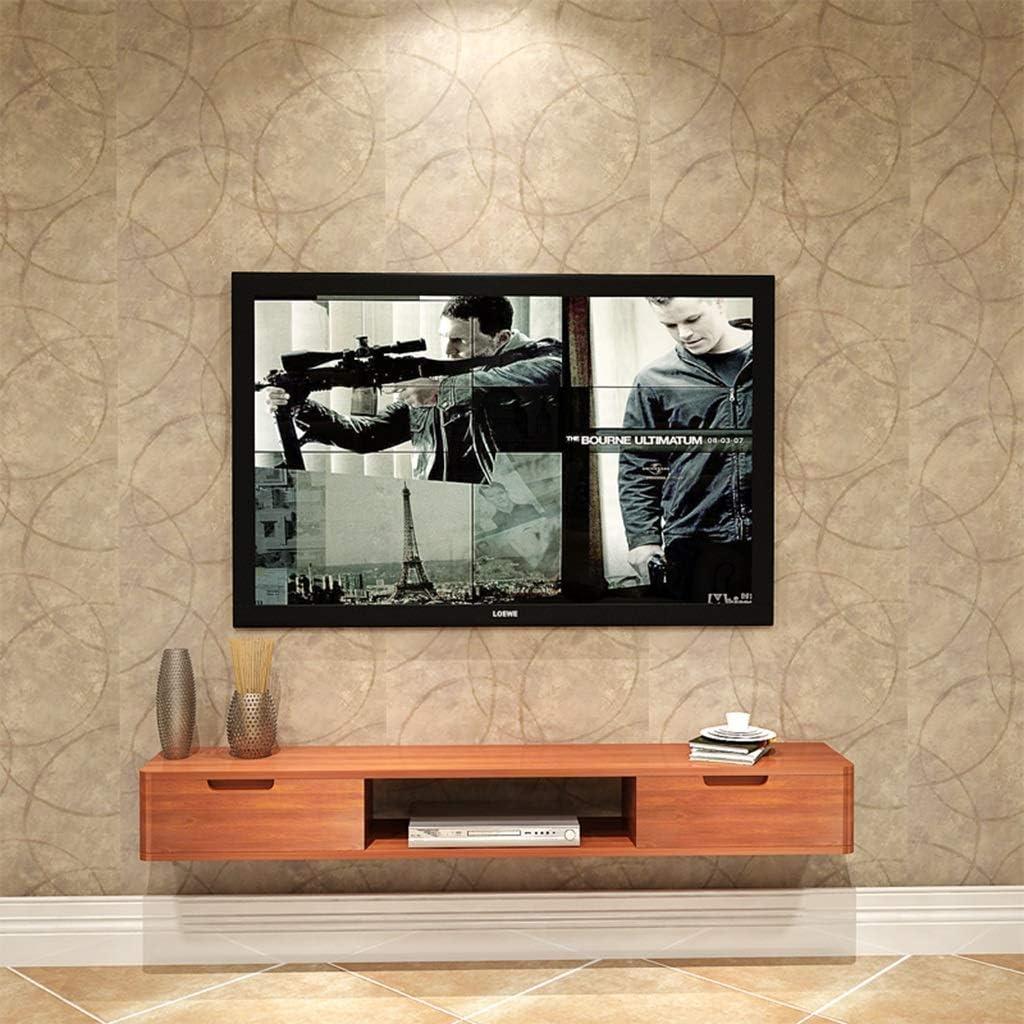 ZPWSNH Mueble de Estante para televisor montado en la Pared ...