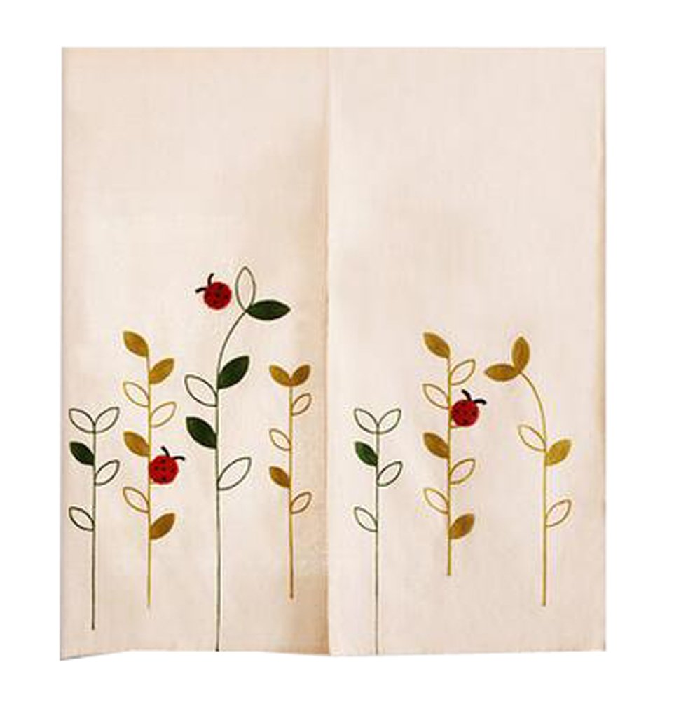 LUNA Home Decor kitchen Hanging Curtain Bedroom Doorway Curtain Dressing Room Entrance Curtain Half Screen 33.46''x59.05''(Japanese-style#04)