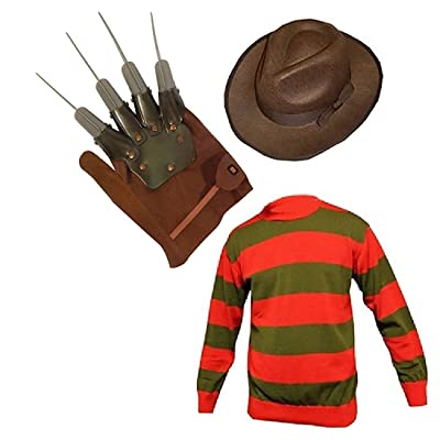 Unisex Kids Boys Halloween Fancy Dress Hat Jumper Set (Age 5-6, Jumper, Hat): Clothing