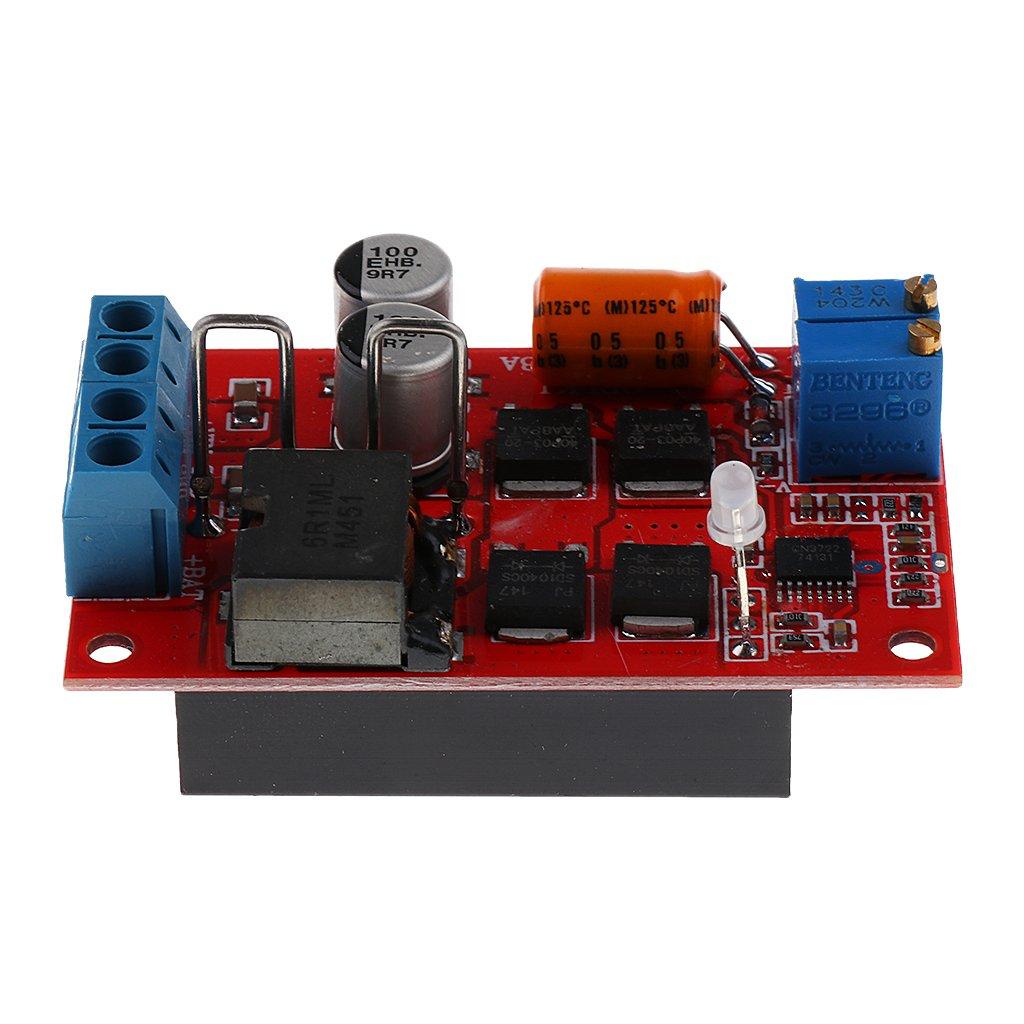 MagiDeal MPPT Solar Panel Controller Battery Charging Board 1-100W 5A 9V 12V 18V 24V Solar Energy Renewable
