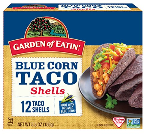 Garden of Eatin' Blue Corn Taco Shells, 12 Count (Pack of 12)