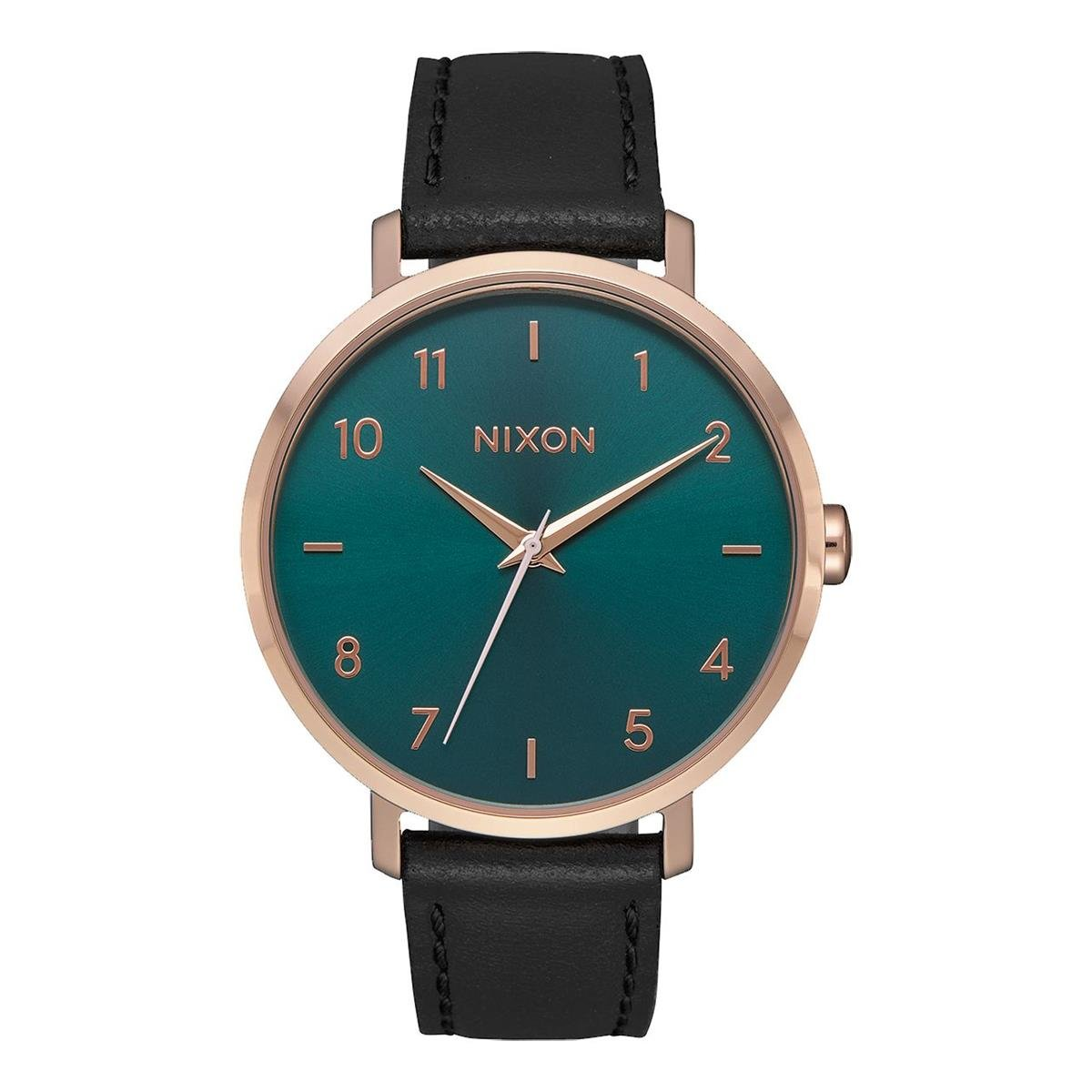 Uhr Damen Quarz Leder Mit Armband Nixon 2805 00Amazon Analog A1091 rxeWBdoC