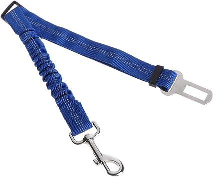 Fogun Pet cintura di sicurezza regolabile elastica Buffering veicolo seggiolino auto guinzaglio per cani cucciolo