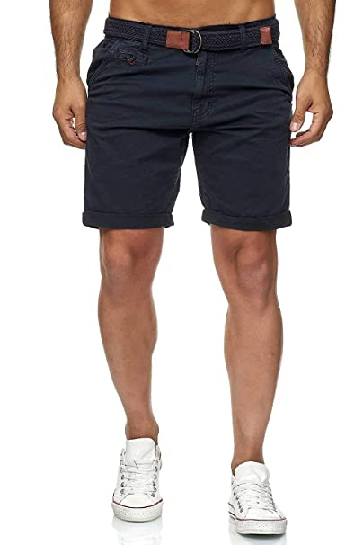 Indicode Conor - Pantalones Cortos de algodón para Hombre