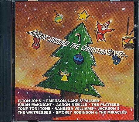 Elton John Christmas Ornament.Various Artists Rockin Around The Christmas Tree Amazon