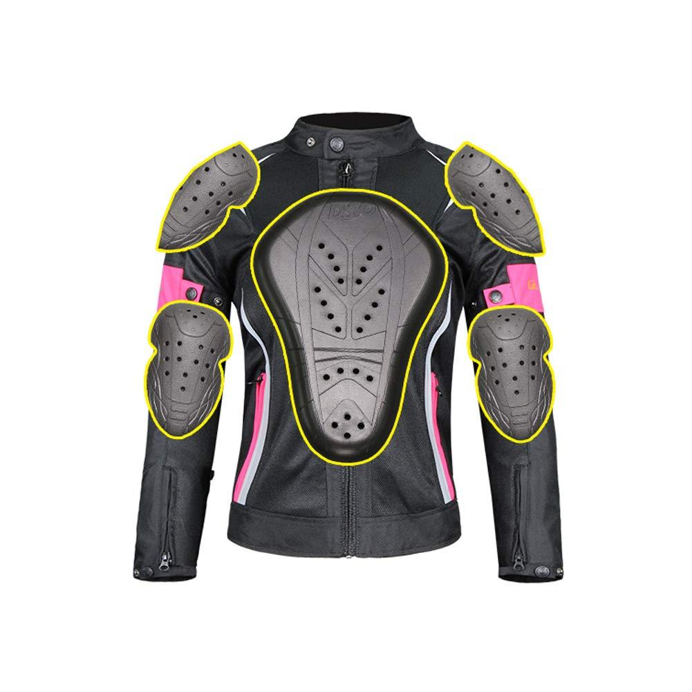 XuBa Conjunto de Chaqueta y Pantalones de Moto Transpirable para Hombre y Mujer