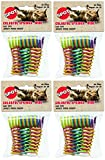 Ethical Pet (4 Pack) Wide Durable Heavy Gauge Plastic Colorful Springs Cat Toy, 10 Count Per Pack