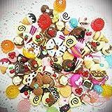 20 pcs 3D Miniature Sweets Deco Cabochon Mix Assorted Resin