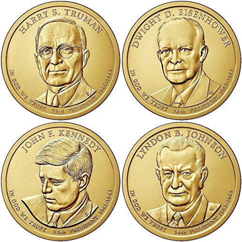 2015 Various Mint Marks Presidential Dollar 2015 P, D Presidential Dollar 8-Coin P & D Uncirculated Uncirculated