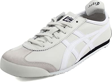 1d8e8e5033a7 Onitsuka Tiger by Asics Unisex Mexico 66 Vaporous Grey White Men s 8.5
