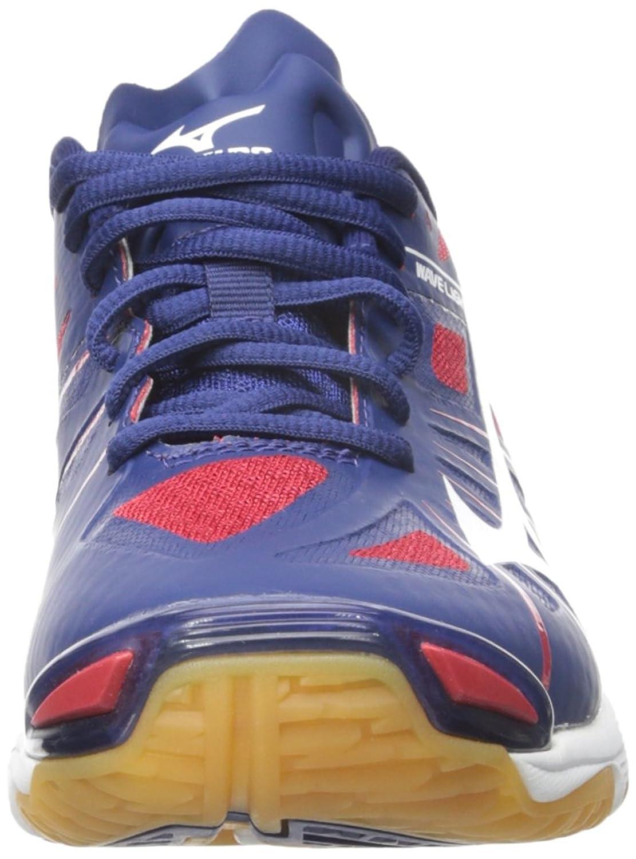 Un Rayo De Ondas De Zapatos De Voleibol Wh-bk Z De Las Mujeres De Mizuno pWz7C22o