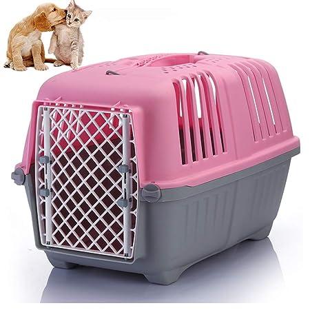 Transportín Plástico Para Perros Y Gatos Material De Resina, Caja ...
