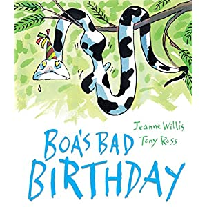 Boa's Bad Birthday (Andersen Press Picture Books (Hardcover))