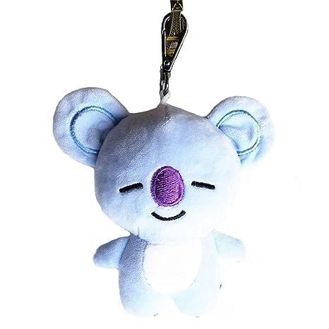 Cute Cartoon BTS BT21 llavero colgante llavero de juguete de ...