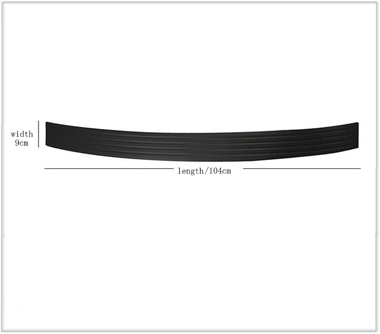 YaaGoo Rear Bumper Rubber Protector 104cm 40 Long 2.4 Width Double Side Tape