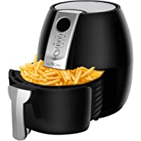 Ultrean Air Fryer, 4.2 Quart Electric Hot Air Fryers Oven Oilless Cooker with LCD Digital Screen and Easily Detachable Frying Pot, ETL/UL Certified,1-Year Warranty,1500W (Black)
