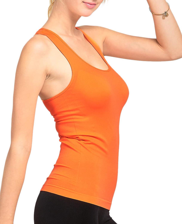 Womens Activewear Workout Yoga Racerback Tank Top Tank Top