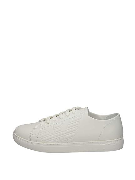 605fe4f19b69 Emporio Armani X4X238 Low Sneakers Man  Amazon.co.uk  Shoes   Bags