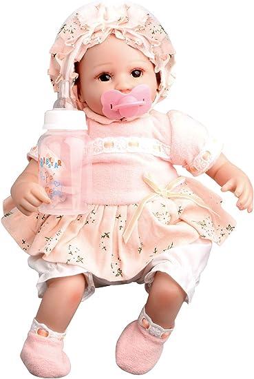 "17/""Lifelike Soft Body Silicone Reborn Baby Doll Newborn Vinyl Baby Girl Doll Toy"