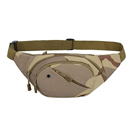 Amazon.com: Fanny Pack Cintura Bolsa Hombres Camuflaje ...