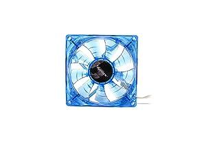 Bgears b-PWM 90mm Blue Cooling b-PWM 90 Blue 2Ball Translucent Blue