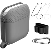 Newdery Waterproof Airpods Case with Accessories Kit