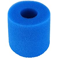 Filtro de Piscina, Filtro de Piscina para Intex Tipo S1 Filtro de Piscina Reutilizable/Lavable Cartucho de Espuma…
