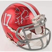 $233 » Tua Tagovailoa Autographed Alabama Chrome Mini Helmet - Signed Beckett BAS - Beckett Authentication - Autographed College Mini Helmets