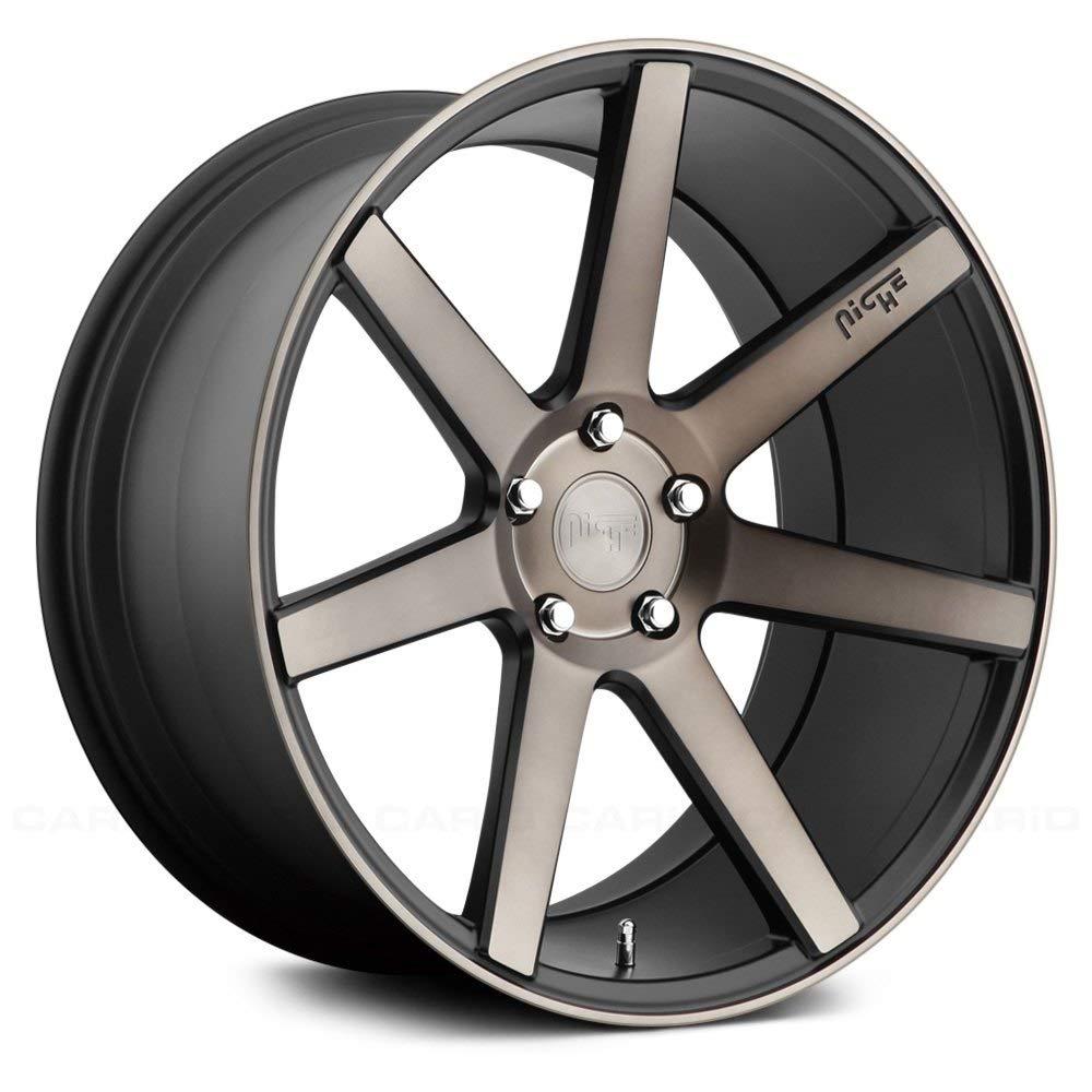 Niche M150 Verona 20x10.5 5x114.3 +20mm Black/Machined Wheel Rim