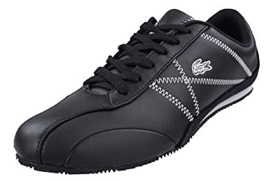 a9d087a9a1adc Image Unavailable. Image not available for. Colour  Lacoste Ekani Lace M  Sneaker trainers women black leather