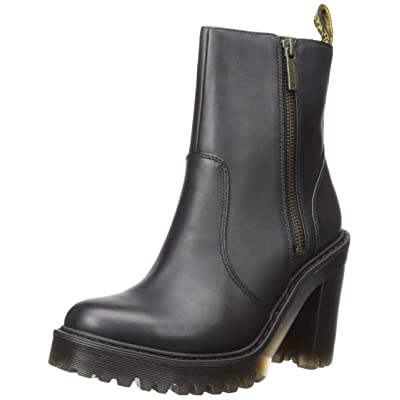 Dr. Martens Women's Magdalena Ii Fashion Boot, Black, Medium | Ankle & Bootie