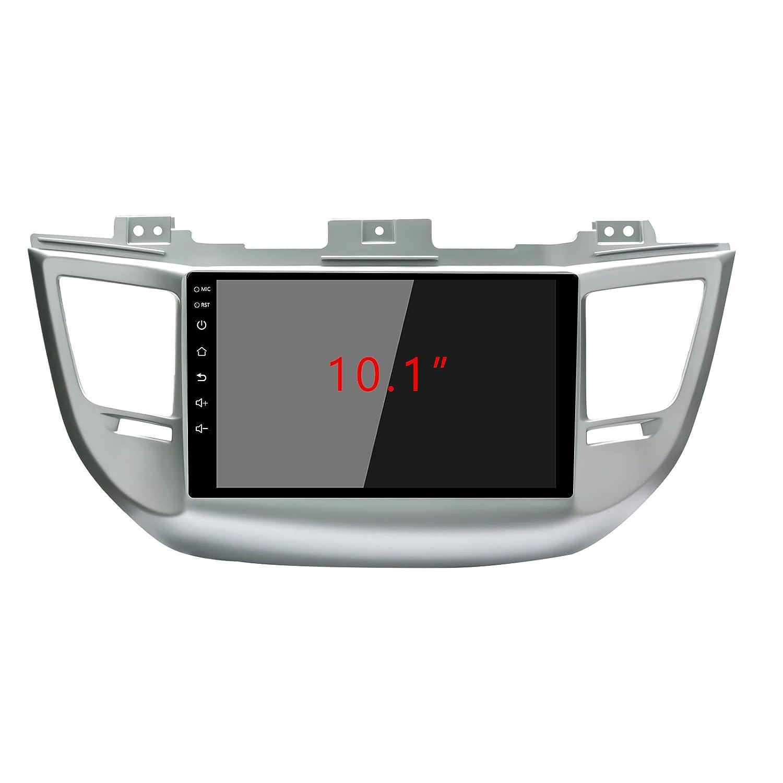 Marco de Radio Especial para Hyundai Tucson//ix35 2016-2018 Double DIN 10-068 23 cm EzoneTronics