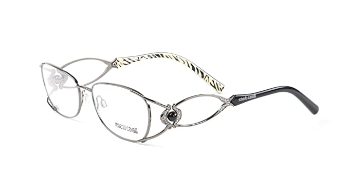 7487acc1cf Image Unavailable. Image not available for. Color  Roberto Cavalli Tiglio Eyeglass  Frames ...
