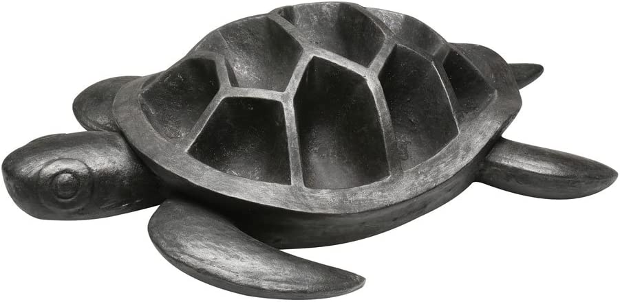 WHAT ON EARTH Turtle Planter – Indoor Outdoor – for Succulents and Small Plants