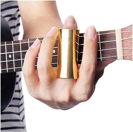 Accesorios para guitarra, protector de dedos, deslizador de mangas ...