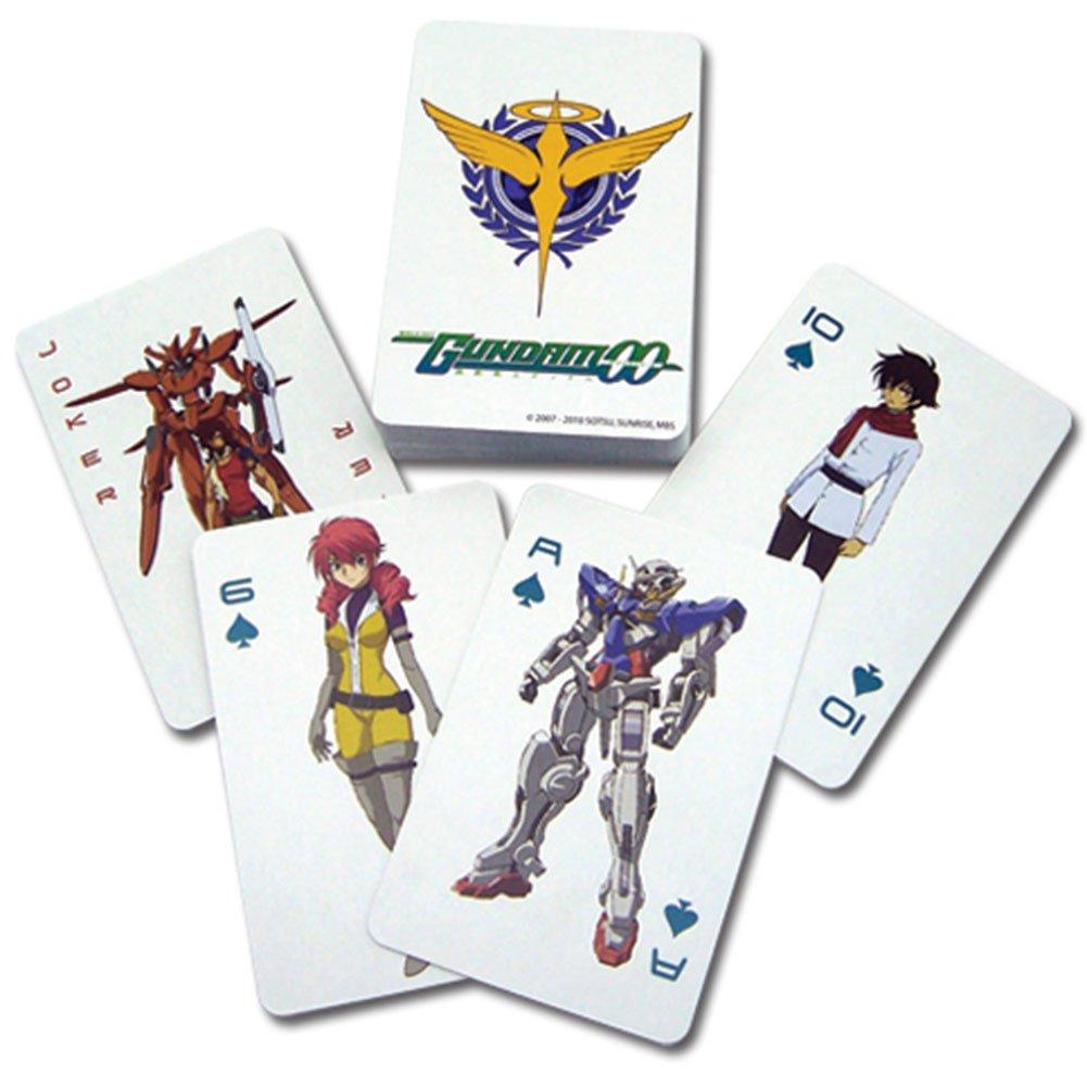 Gundam 00 cartes à jouer poker GE Animation 2030